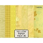 Yellow Paper Pack  #1