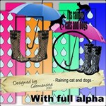 Carmensita Kit - Raining cats and dogs