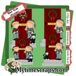 Christmas kids door