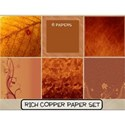 Rich Copper Paper Set