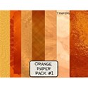 Orange Paper Pack #1