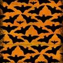 Orange Bats Paper