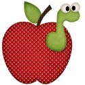 apple with worm 1