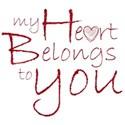 my heart belongs to you heart substitute