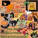 The Best Halloween Embellishments Kit Preview