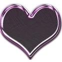 Heart palm leav pink lt wacky