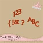 thankful hearts alpha