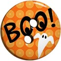 Halloween button boo