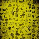 Yellow Pattern Paper