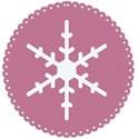 pink matte circle