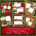 christmas cookies quick pages preview