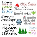 Christmas Card and Ornament Kit
