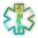 glowing-green-neon-medical-alert