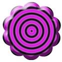 purple button