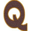 TCasey Brown on Orange Alpha CAP Q
