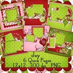 Joy Premade Pages