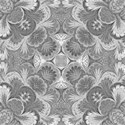 mid grey damask paper