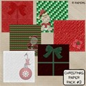 Christmas Paper Pack #3 Cover