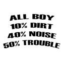 saying all boy