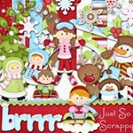 Brrrrr Scrapbook Kit