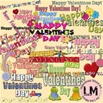 Valentines Day Word Art
