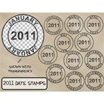 2011 Date Stamps