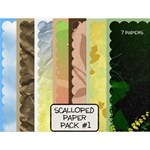 Scalloped Paper Pack #1