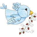 armina_strawberry_bird