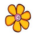 Small singleOrange Flower