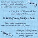 Family sayings & quotes - part I