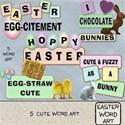 Easter Word Art #1