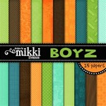 Boyz Paper Pack