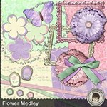 Flower Medley ~ with 20 Layouts