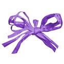 bow raffia 01 purple