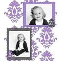 Lavender Flourish