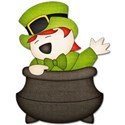 leprechaun in pot