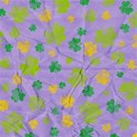 Paper Clover Purple