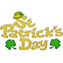 St Pat s Day Sticker