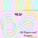 Oil papers cover sheet