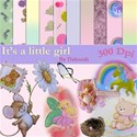Its a little girl cover sheet