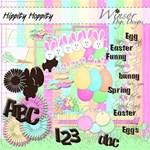 Hippity Hoppity Easter+Chocolate Alpha