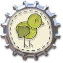 Bottle Cap Bird