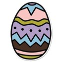 Easter Egg Sticker
