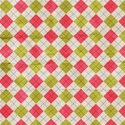 Paper Argyle Plaid