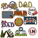 Fathers Day/Dad Word Art