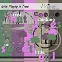 GirlsPlayinginTrees