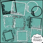 Swirl Frames - FREE 2 WEEKS ONLY