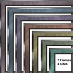 Double matted Frames Series 2