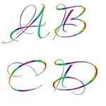 Neon Alphabet & Frames