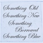 Something Borrowed Something Blue Wedding Album